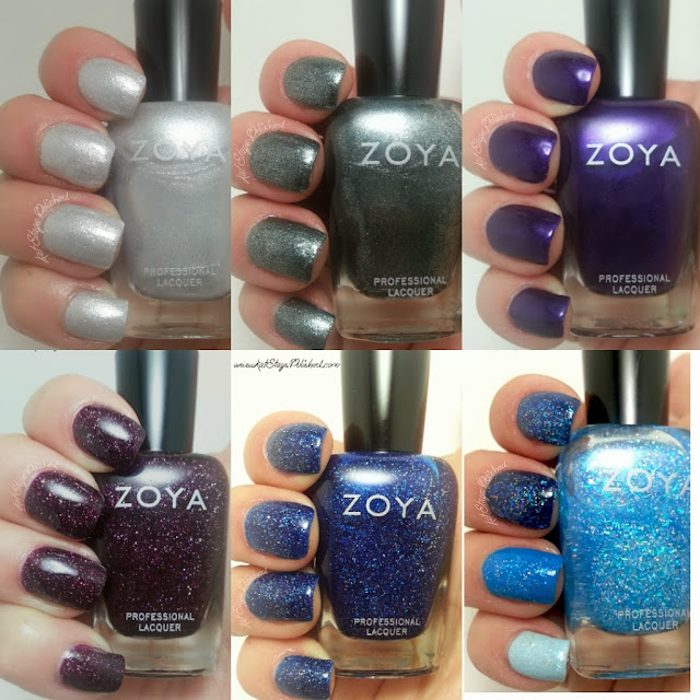 Zoya Zenith Winter 2013 Collection - Swatches