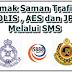 Cara Semak Saman Trafik, POLIS, AES dan JPJ Melalui SMS