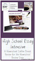 High School Essay Intensive - A Homeschool Coffee Break Review for the Homeschool Review Crew @ kympossibleblog.blogspot.com