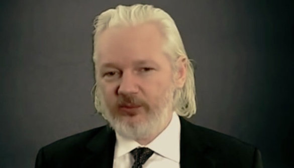 Julian Assange le 10 décembre 2015, capture d'écran YouTube/RT, DR