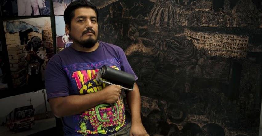 Realizan exposición de grabado de Luis Torres Villar en la galería ICPNA de Iquitos