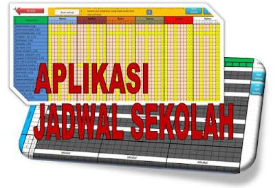 Aplikasi Jadwal Pelajaran SD, SMP, SMA Kurikulum 2013 Tahun 2018