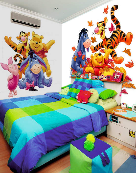 kamar+tidur+anak+laki laki simpan+beberapa+poster