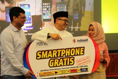 Pertama di Indonesia, Indosat Hadirkan Program Smartphone Gratis