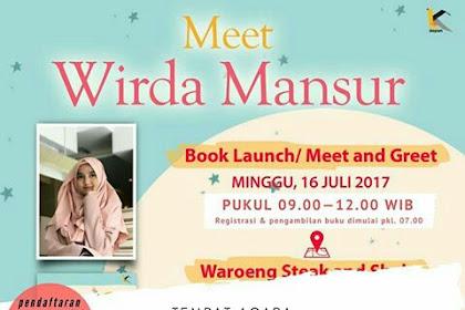 Meet Wirda Mansur dan Kata Depan