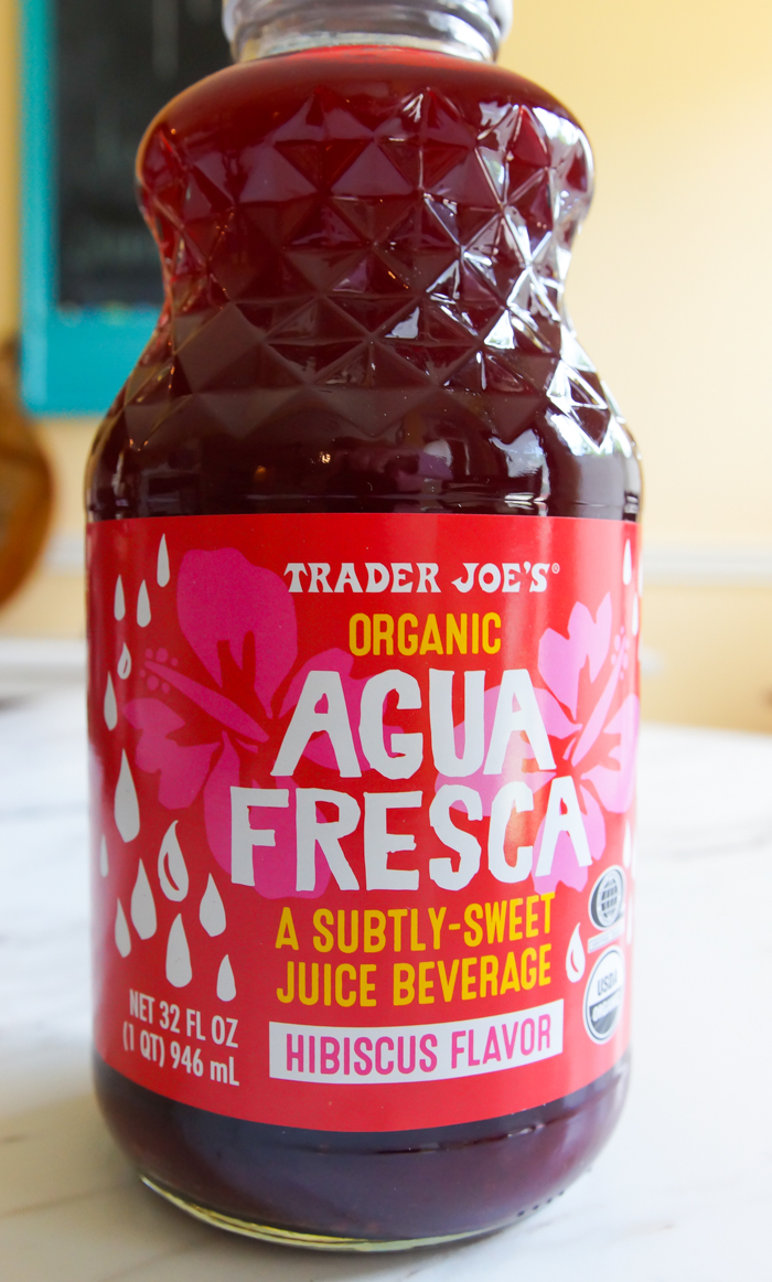 Hibiscus Agua Fresca from #traderjoes