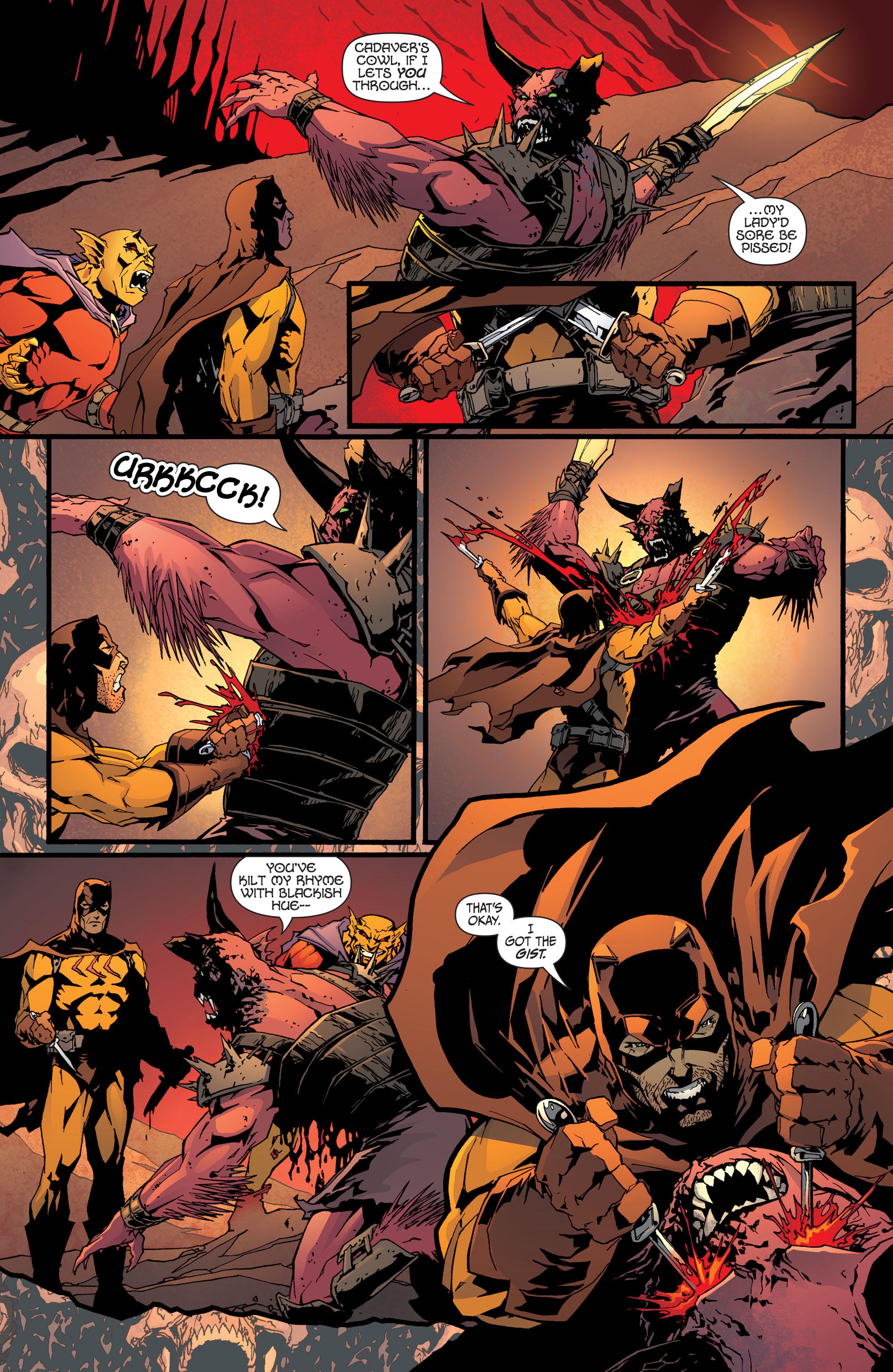 Read online Secret Six (2008) comic -  Issue #32 - 12