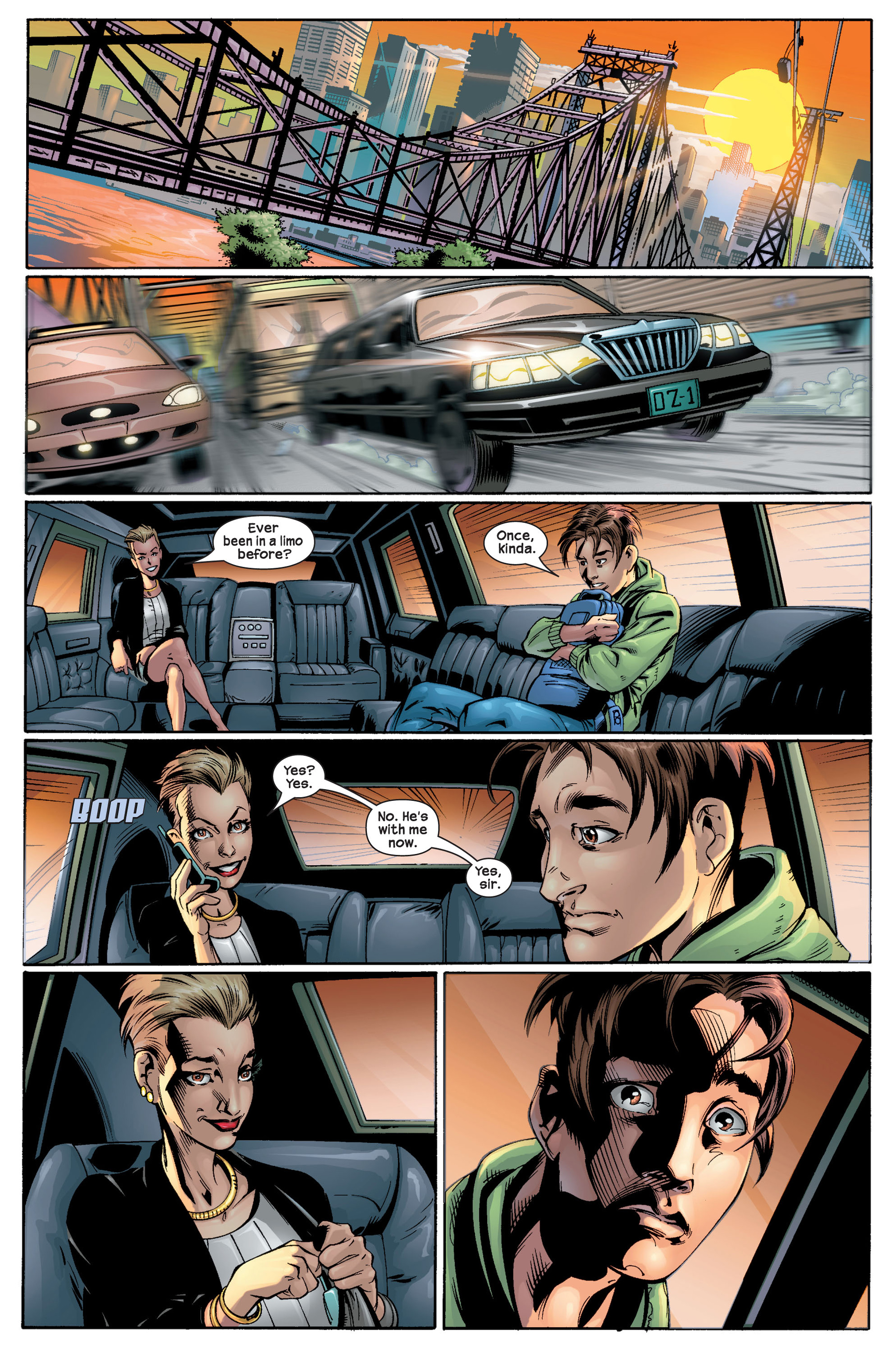 Read online Ultimate Spider-Man (2000) comic -  Issue #22 - 27