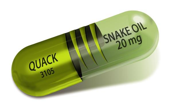 Health fraud and quackery fdating