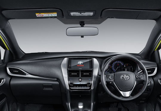 All Toyota New Yaris Interior