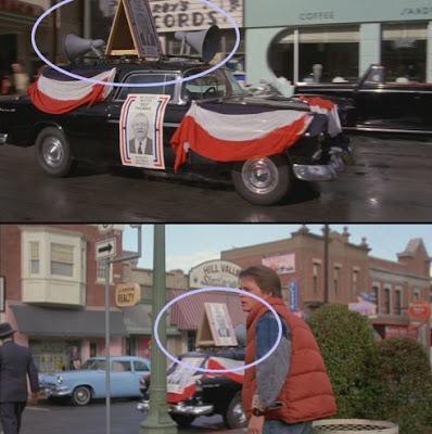 Error coche altavoces - Regreso al futuro