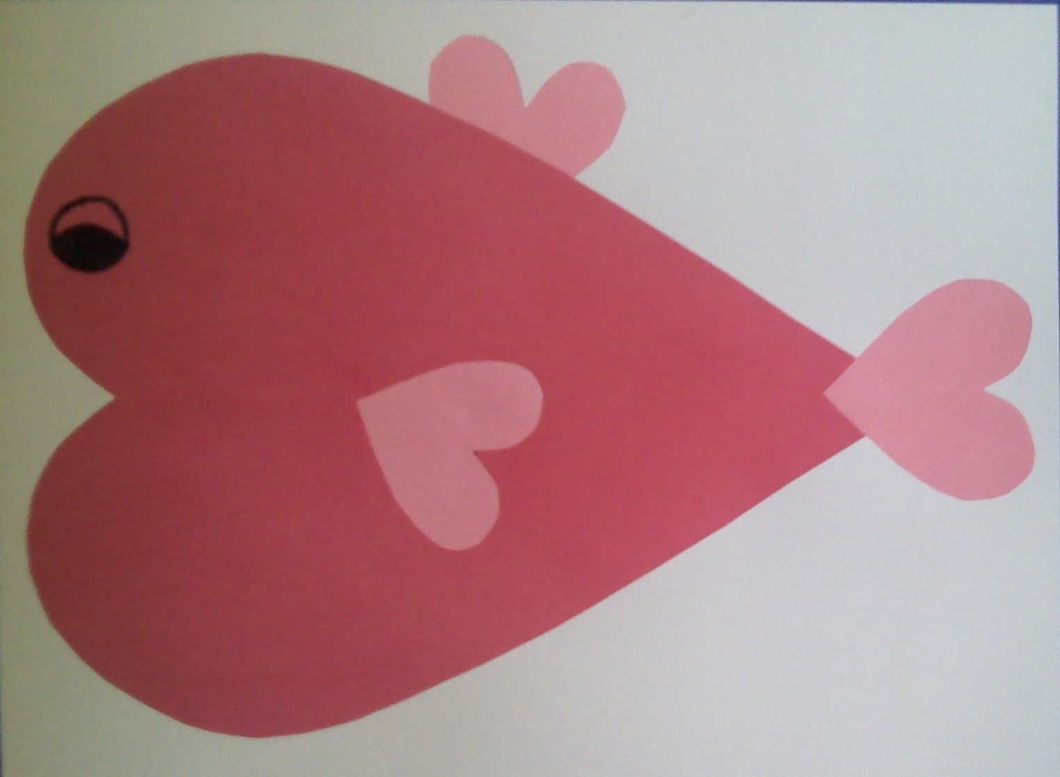 crafts for preschoolers  heart animals
