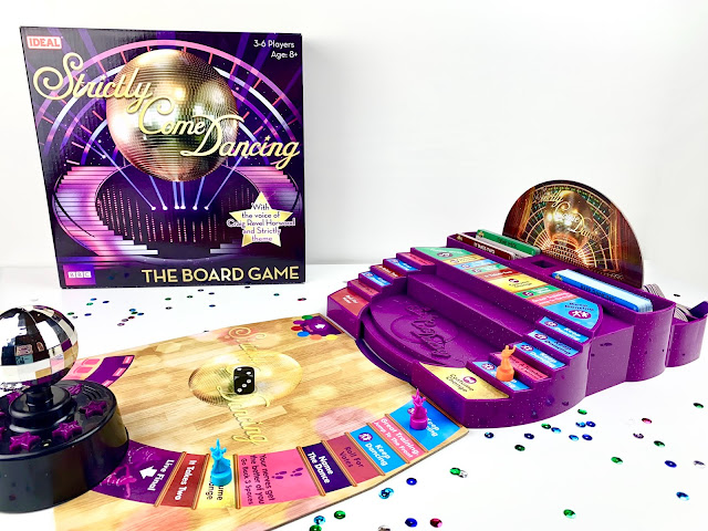 Playing Strictly Come Dancing The Board Game to review it