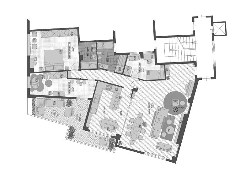 progetto interior design architetto Kristina Vergieva GoPillar