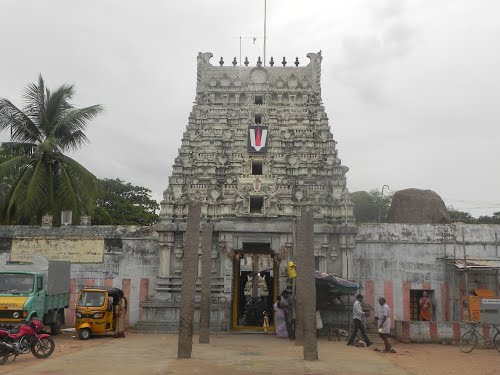 Entrance of Sri Sthala Sayana Perumal Temple