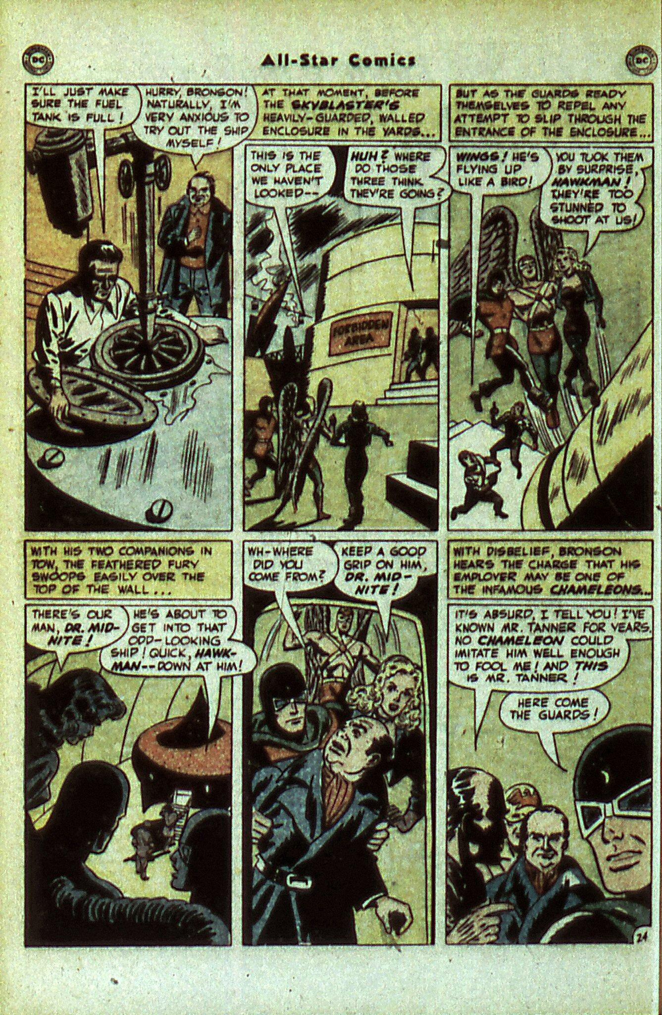 Read online All-Star Comics comic -  Issue #56 - 30