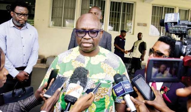 "Salary arrears: ""Fayemi should help me pay the money"", says Fayose"