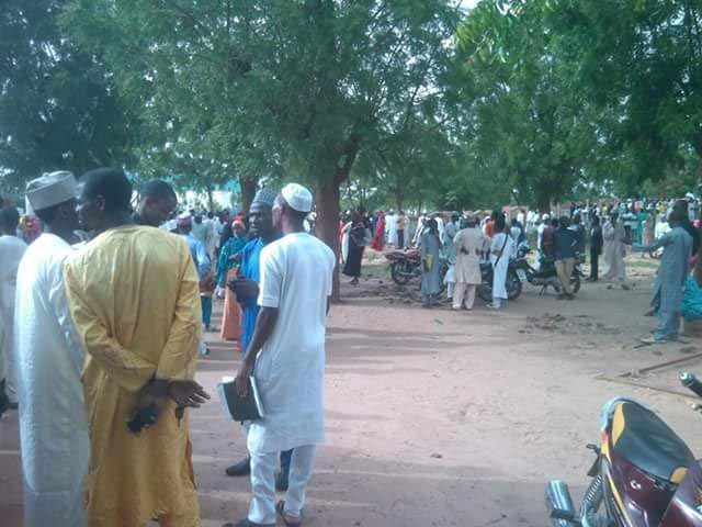 Students and Police clash at Federal College of Education Gombe