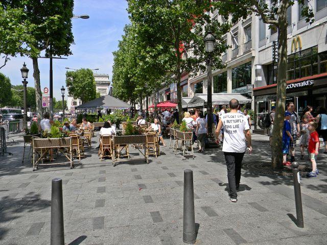 kawiarnie, Paryż, spacery