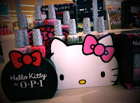 HELLO KITTY nail polish collection OPI pink Ulta haul manicure pedicure swatches