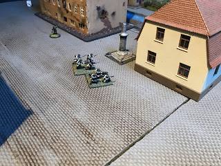 German infantry counter-attack the Canadian positions