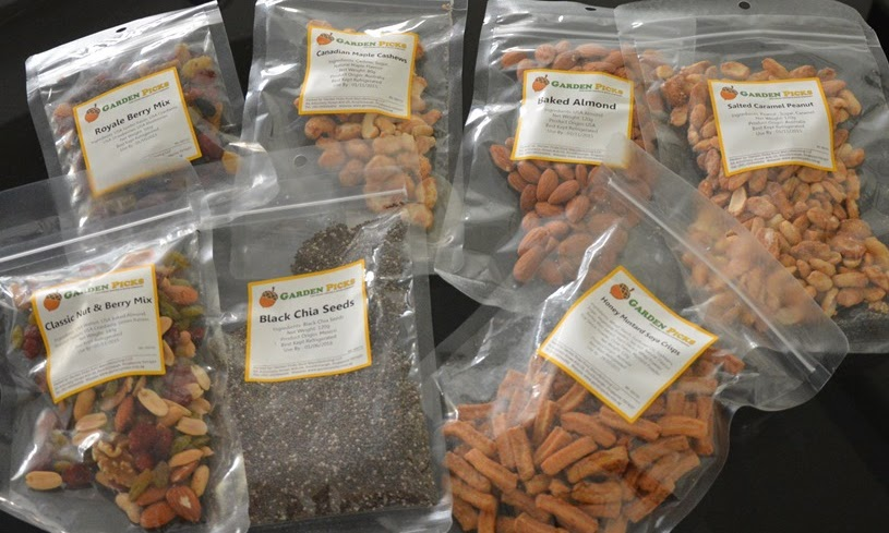 Healthy Nuts and Dried Fruits by Garden Picks