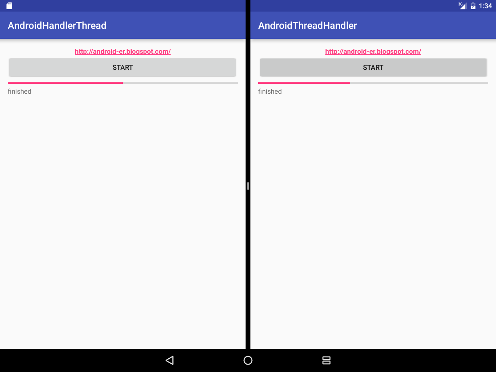 Android Er Handlerthread Example