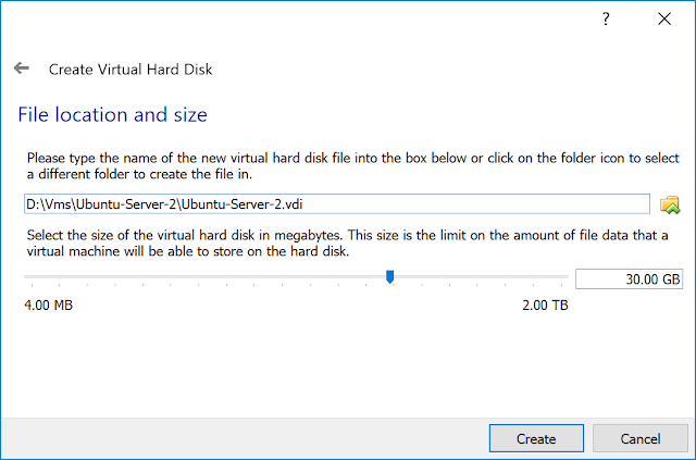 File location and size.