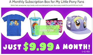 MLP Box Monthly MLP Subscription Box by Brony.com