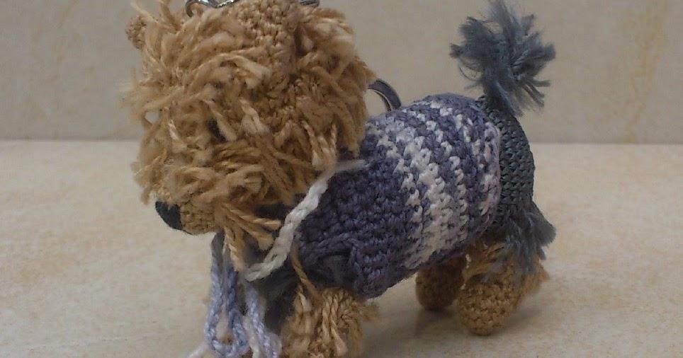 Amigurumi Crochet Yorkie : Szilvija Alkot: Amigurumi yorkshire terrier
