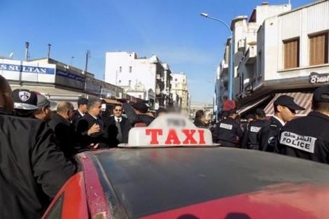 التاكسيات الحمراء تتمرد على ولاية الدار البيضاء و تعترض على الترخيص لتطبيق 'هيتش' !