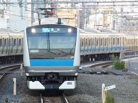 京浜東北線 各駅停車 蒲田行き E233系