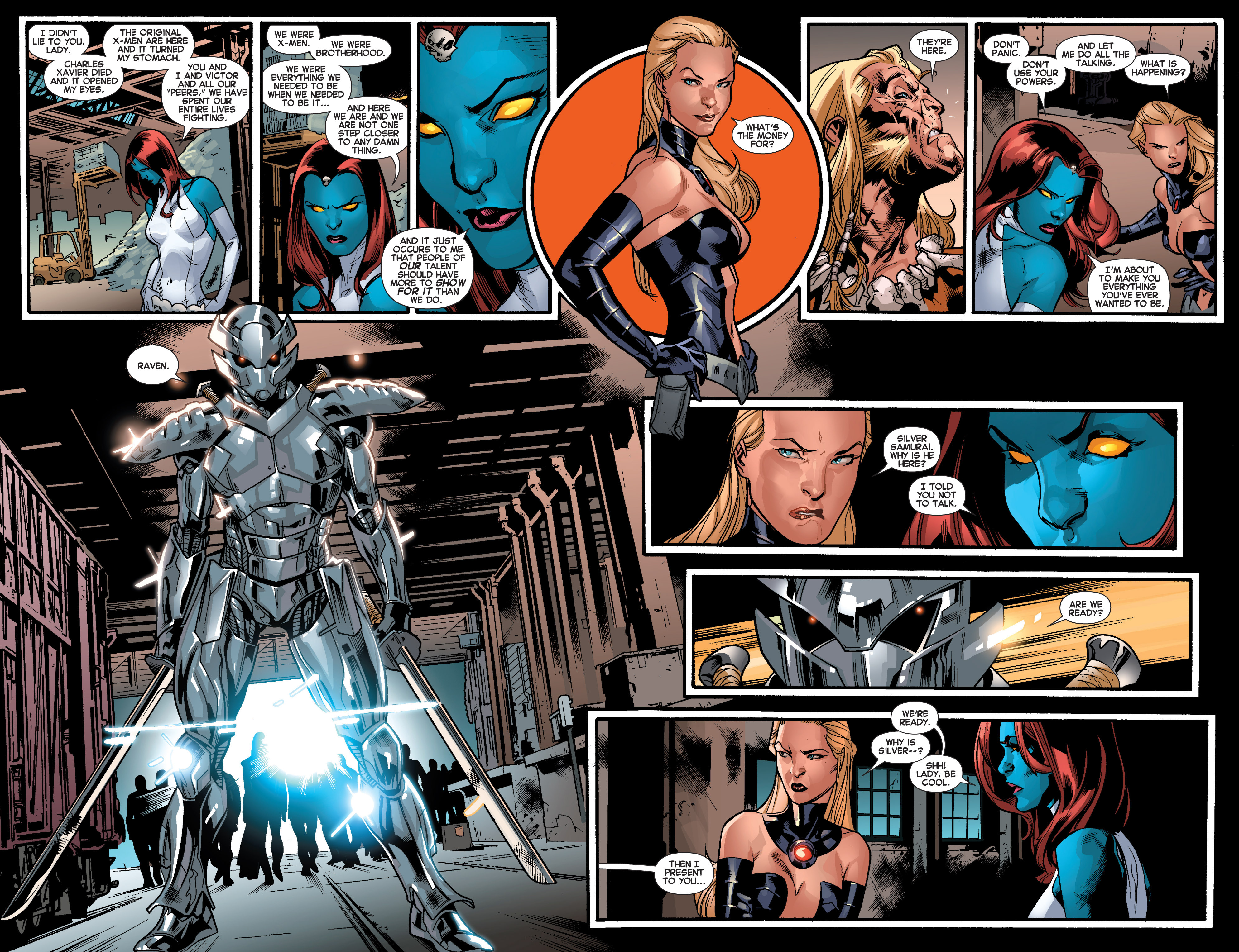 Read online All-New X-Men (2013) comic -  Issue # _Special - Out Of Their Depth - 57