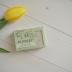 Naturalne mydło sodowe szare z liściem oliwki i oliwą z oliwek 75-78%, 100 g