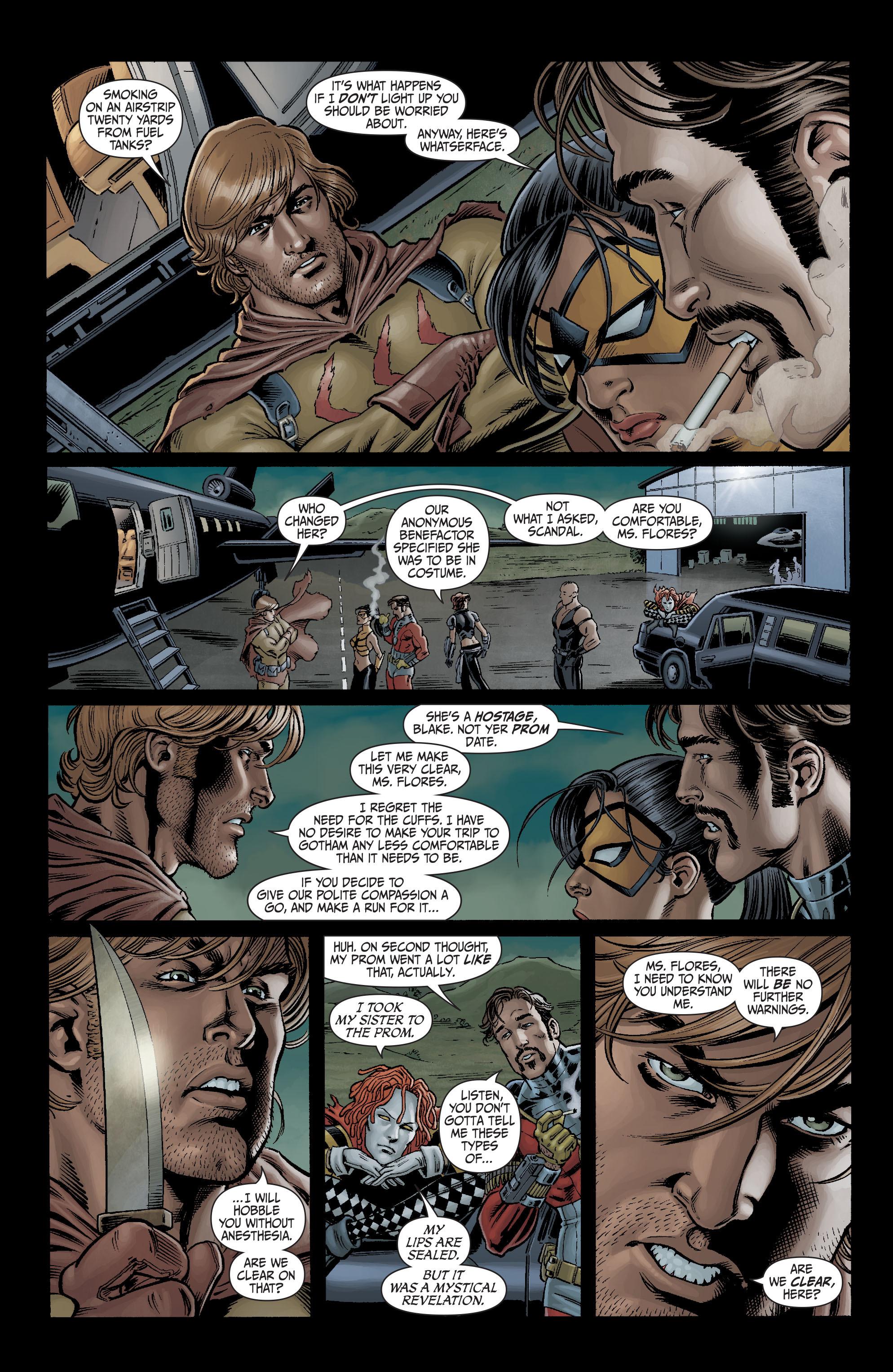 Read online Secret Six (2008) comic -  Issue #3 - 3