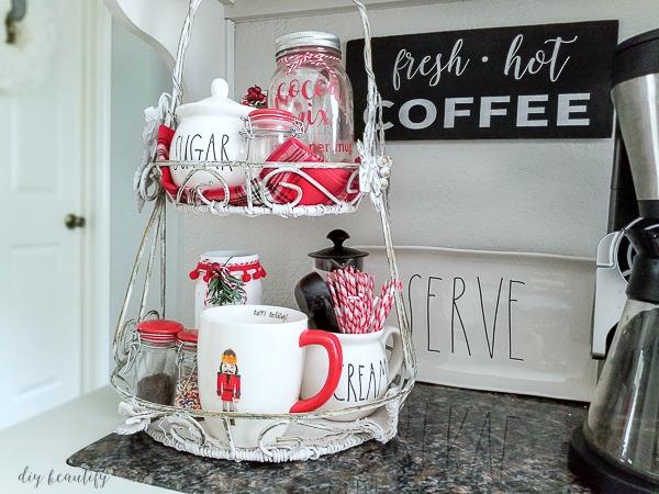 festive cocoa bar