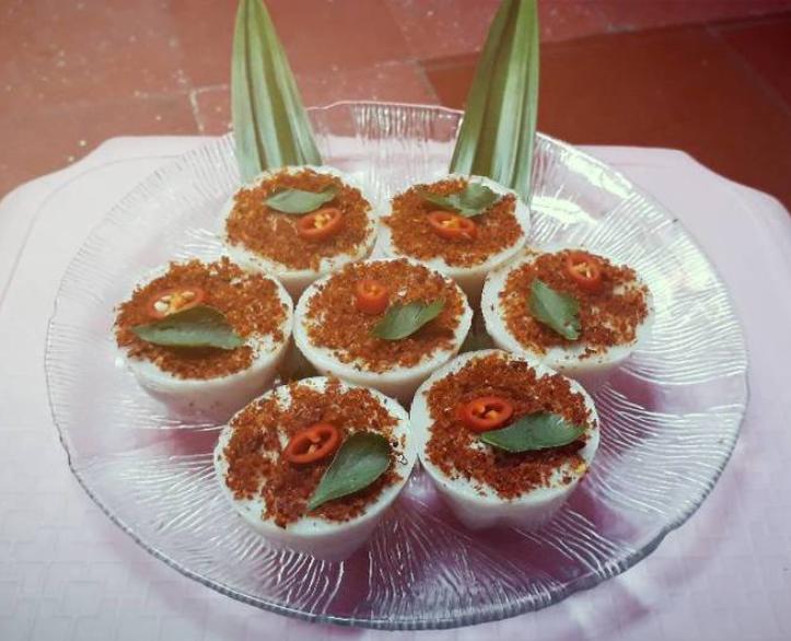 Resep Kue Talam Jtt: Resep Cara Membuat Kue Talam Abon Udang Yang Enak Dan