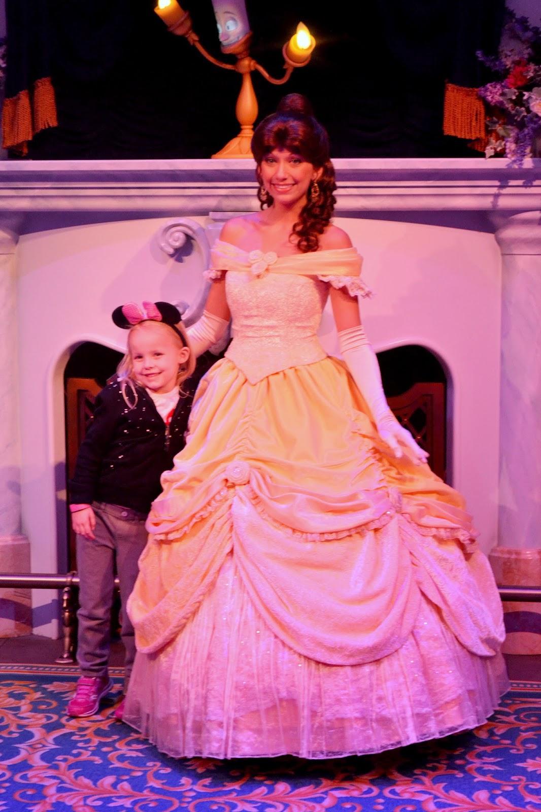 Disney's Magic Kingdom Meeting Belle