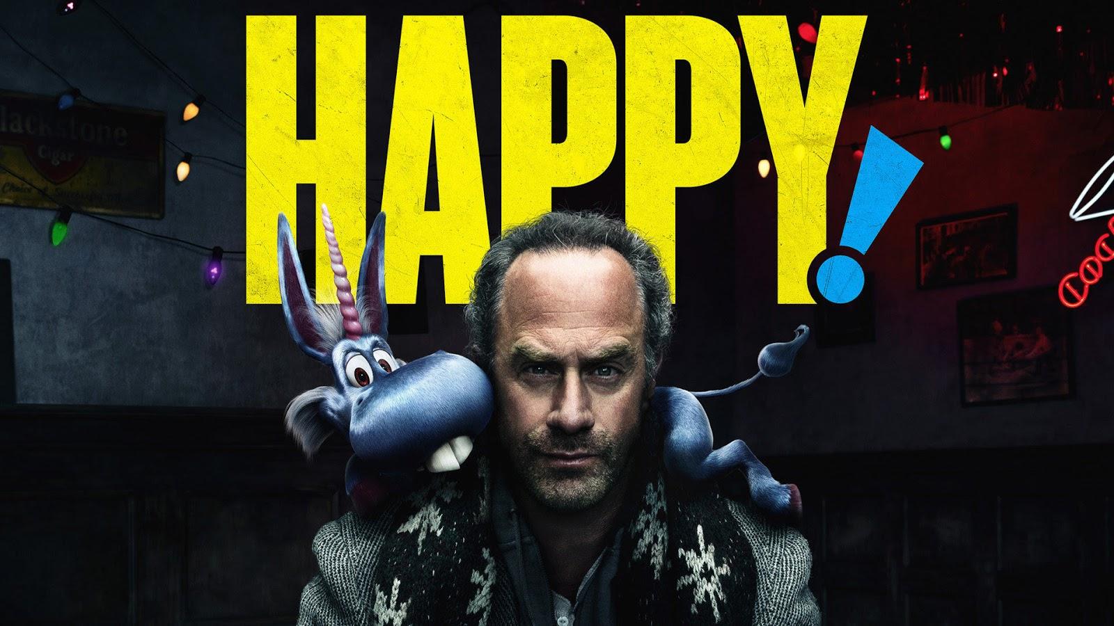 Happy! Poster Syfy Netflix