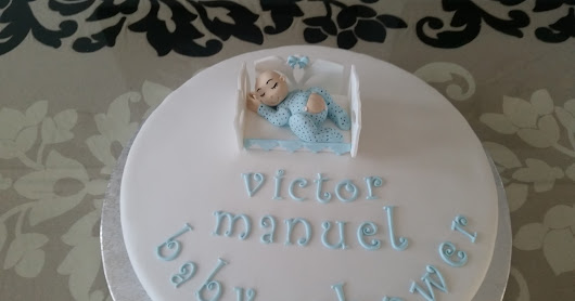 Tarta Baby shower.