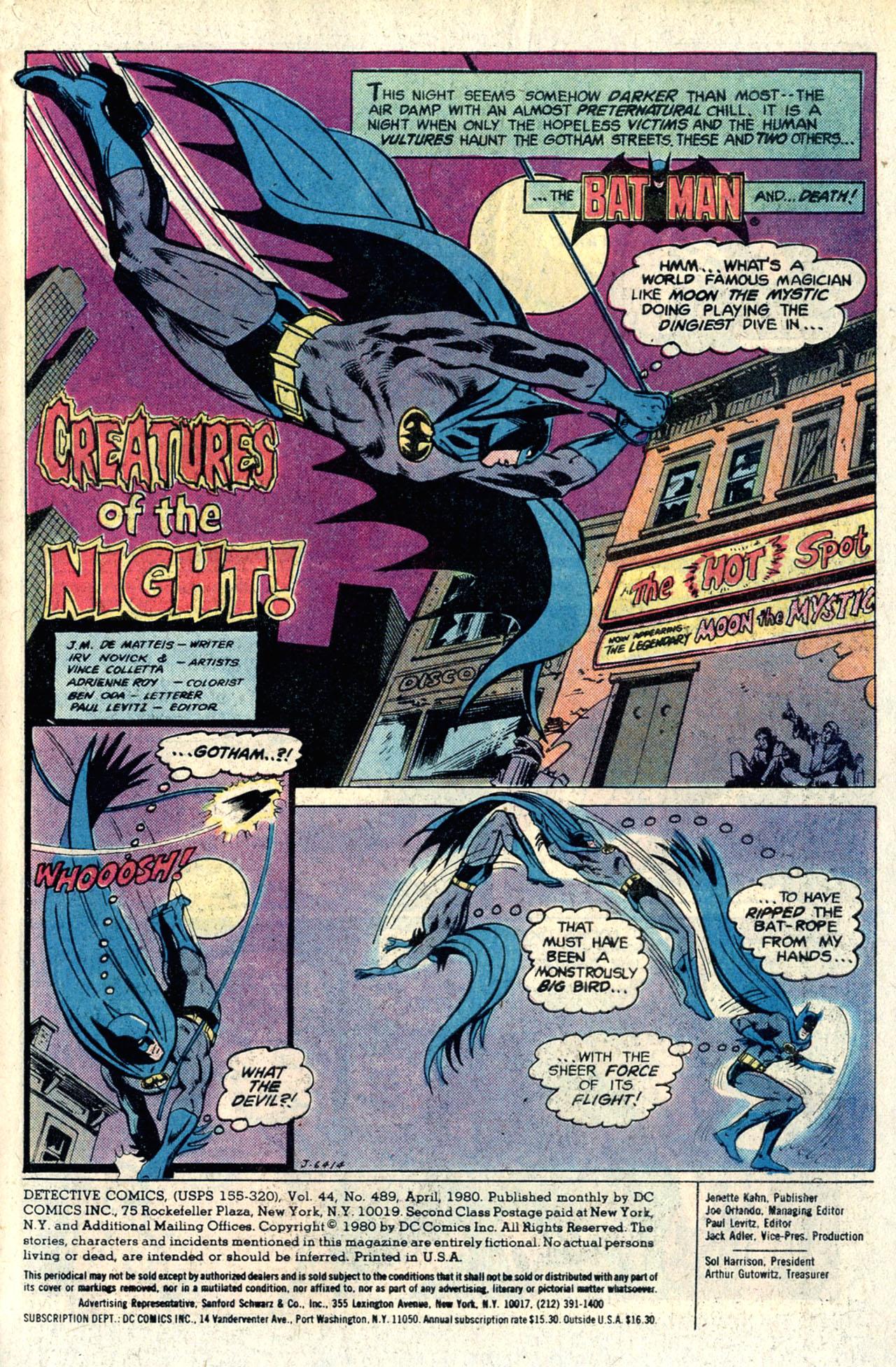 Detective Comics (1937) 489 Page 2