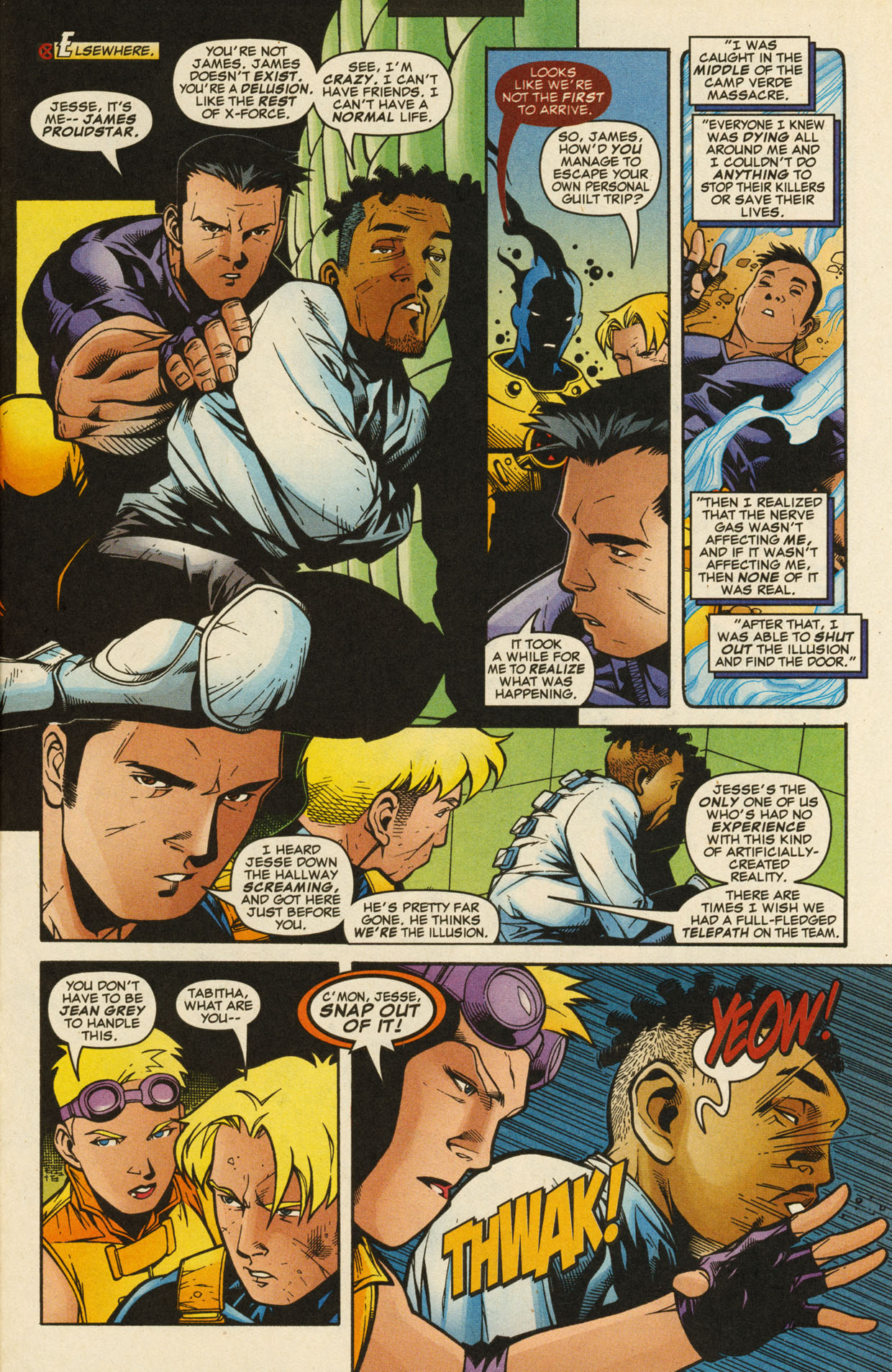 Read online X-Force (1991) comic -  Issue #98 - 26
