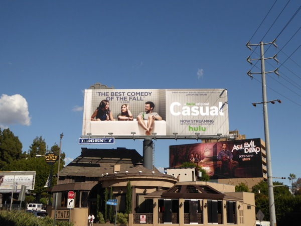 Casual Best comedy of Fall billboard