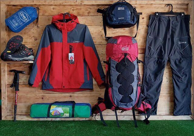 7 perlengkapan pribadi yang wajib dibawa untuk pendaki pemula - foto bandungoutdoorstore