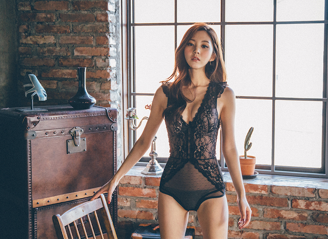 5 Chae Eun - Lingerie Collection - very cute asian girl-girlcute4u.blogspot.com