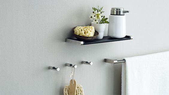 mała półka do łazienki