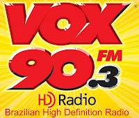 Rádio Vox 90 FM 90.3 de Americana SP ao vivo para todo o planeta