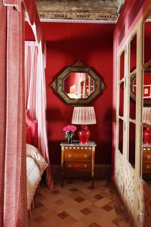 El rinc n vintage de karmela rojo y rosa la nueva - Lorenzo castillo decoracion ...