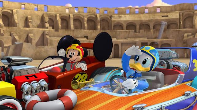 Nuovo Cartone Disney: Topolino e gli amici del rally