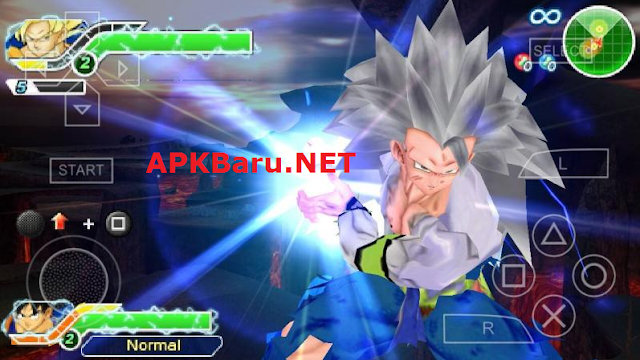 Dragon Ball Z Tenkaichi Tag Team (TTT) MOD Ultra V6 With PPSSPP